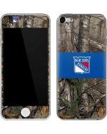 New York Rangers Realtree Xtra Camo Apple iPod Skin