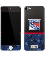 New York Rangers Retro Tropical Print Apple iPod Skin