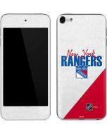 New York Rangers Script Apple iPod Skin