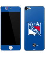 New York Rangers Solid Background Apple iPod Skin