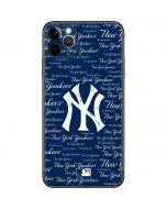 New York Yankees - Cap Logo Blast iPhone 11 Pro Max Skin