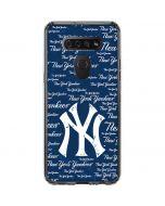 New York Yankees - Cap Logo Blast LG K51/Q51 Clear Case