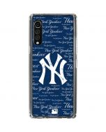 New York Yankees - Cap Logo Blast LG Velvet Clear Case