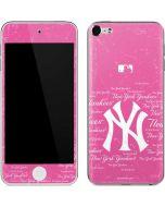 New York Yankees - Pink Cap Logo Blast Apple iPod Skin