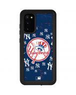 New York Yankees - Primary Logo Blast Galaxy S20 Waterproof Case