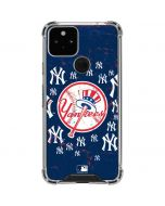 New York Yankees - Primary Logo Blast Google Pixel 5 Clear Case