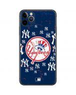 New York Yankees - Primary Logo Blast iPhone 11 Pro Max Skin