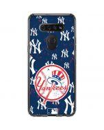 New York Yankees - Primary Logo Blast LG K51/Q51 Clear Case