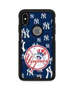 New York Yankees - Primary Logo Blast Otterbox Commuter iPhone Skin