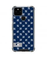 New York Yankees Full Count Google Pixel 5 Clear Case