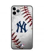 New York Yankees Game Ball iPhone 11 Pro Max Skin