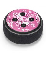 New York Yankees Pink Blast Amazon Echo Dot Skin