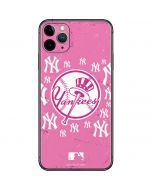 New York Yankees Pink Blast iPhone 11 Pro Max Skin