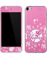 New York Yankees Pink Blast Apple iPod Skin