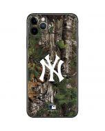 New York Yankees Realtree Xtra Green Camo iPhone 11 Pro Max Skin