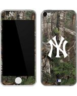 New York Yankees Realtree Xtra Green Camo Apple iPod Skin