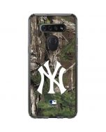 New York Yankees Realtree Xtra Green Camo LG K51/Q51 Clear Case
