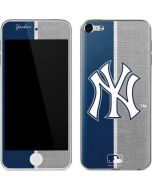 New York Yankees Split Apple iPod Skin