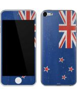 New Zealand Flag Distressed Apple iPod Skin