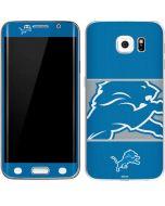 Detroit Lions Zone Block Galaxy S6 Edge Skin