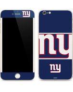 New York Giants Zone Block iPhone 6/6s Plus Skin