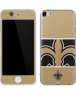 New Orleans Saints Zone Block Apple iPod Skin