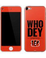 Cincinnati Bengals Team Motto Apple iPod Skin