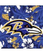 Baltimore Ravens Tropical Print Amazon Echo Skin