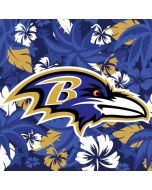 Baltimore Ravens Tropical Print iPhone 8 Pro Case