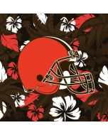 Cleveland Browns Tropical Print iPhone X Waterproof Case
