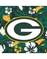 Green Bay Packers Tropical Print Yoga 910 2-in-1 14in Touch-Screen Skin