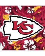 Kansas City Chiefs Tropical Print Moto X4 Skin