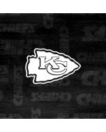 Kansas City Chiefs Black & White Yoga 910 2-in-1 14in Touch-Screen Skin
