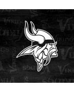 Minnesota Vikings Black & White Wii U (Console + 1 Controller) Skin