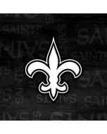 New Orleans Saints Black & White Xbox One Controller Skin