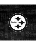 Pittsburgh Steelers Black & White Yoga 910 2-in-1 14in Touch-Screen Skin
