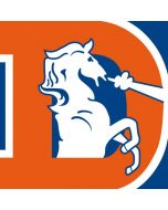 Denver Broncos Retro Logo Apple AirPods Skin