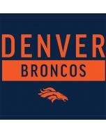 Denver Broncos Blue Performance Series Apple AirPods Skin