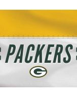Green Bay Packers White Striped Dell XPS Skin
