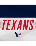 Houston Texans White Striped Moto G6 Skin