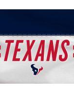 Houston Texans White Striped Xbox One X Console Skin