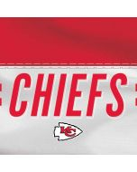 Kansas City Chiefs White Striped Yoga 910 2-in-1 14in Touch-Screen Skin