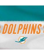Miami Dolphins White Striped Amazon Echo Skin