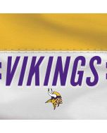 Minnesota Vikings White Striped Yoga 910 2-in-1 14in Touch-Screen Skin
