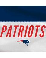 New England Patriots White Striped Apple iPad Skin