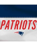 New England Patriots White Striped Dell XPS Skin