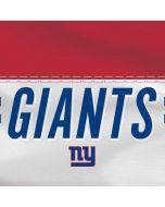 New York Giants White Striped Amazon Echo Skin