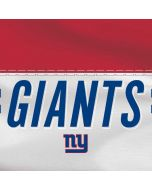New York Giants White Striped Yoga 910 2-in-1 14in Touch-Screen Skin