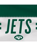 New York Jets White Striped Amazon Echo Skin