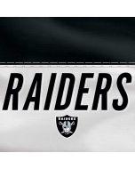 Oakland Raiders White Striped LG G6 Skin